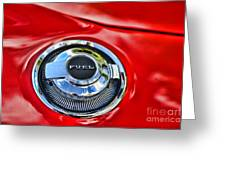 1969 Charger Fuel Cap Greeting Card