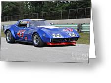 1969 Chevrolet Corvette Race Car Greeting Card