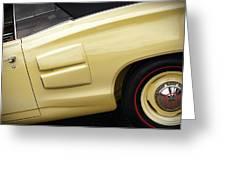 1969 Dodge Coronet R/t Convertible Greeting Card