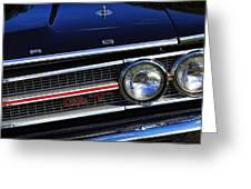 1969 Ford Torino Gt Greeting Card