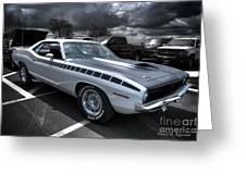 1970 Aar Barracuda Greeting Card