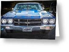1970 Chevy Chevelle 454 Ss   Greeting Card