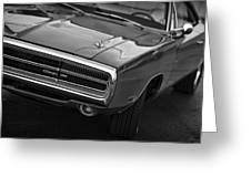 1970 Dodge Charger Greeting Card