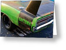 1970 Dodge Daytona Charger Greeting Card