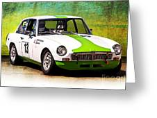 1970 Mgb Gt Greeting Card