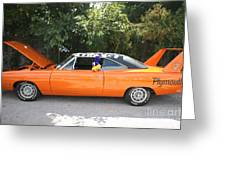 1970 Plymouth Dodge Superbird Greeting Card
