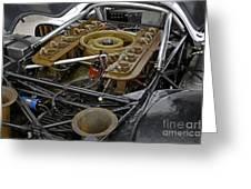 1970 Porsche 917k Engine Greeting Card
