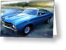1971 Chevy Chevelle Greeting Card by Robert Smith