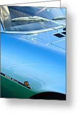 1971 Fiat Dino 2.4 Side Emblem Greeting Card