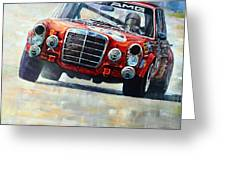 1971 Mercedes-benz Amg 300sel Greeting Card
