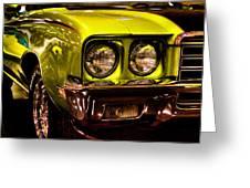 1972 Buick Skylark Custom Convertible Greeting Card