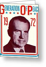 1972 Nixon Presidential Campaign Greeting Card