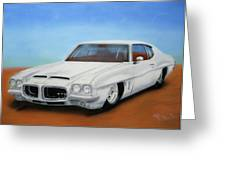 1972 Pontiac Gto Greeting Card