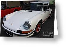 1973 Porsche Greeting Card