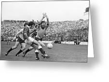 1974 All Ireland Football Final Greeting Card