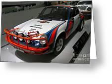 1978 Porsche 911 Sc Greeting Card