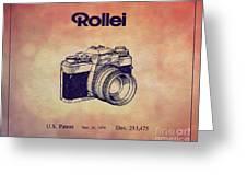 1979 Rollei Camera Patent Art 1 Greeting Card