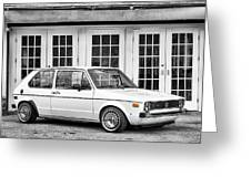 1979 Vw Rabbit IIi Greeting Card