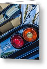1980 Ferrari 308 Gtsi Taillight Emblem -0036c Greeting Card