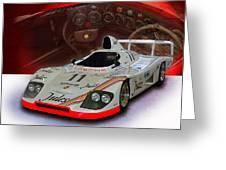 1981 Porsche 936/81 Spyder Greeting Card