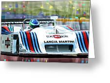 1982 Lancia Lc1 Martini Greeting Card