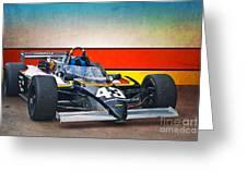 1983 Lola T700 Indy Car Greeting Card