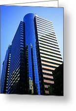 1984 New York Architecture No4 Greeting Card