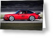 1984 Porsche 911 Targa Greeting Card