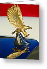 1986 Zimmer Golden Spirit Hood Ornament Greeting Card by Jill Reger