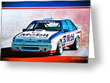 1987 Vl Commodore Group A Greeting Card
