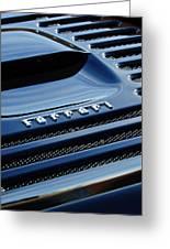1997 Ferrari F 355 Spider Rear Emblem -153c Greeting Card