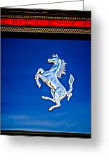 1997 Ferrari F 355 Spider Taillight Emblem -135c Greeting Card