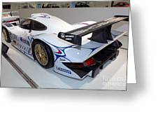 1998 Porsche 911 Gt1 Greeting Card