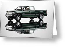 1999 Chevy Silverado Truck Greeting Card