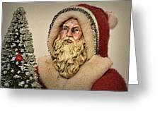 19th Century Santa Claus Greeting Card