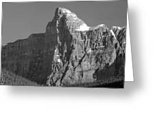 1m3621-bw-v-outlier Of Mt. Murchison Greeting Card