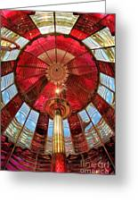 1st Order Fresnel Lens Greeting Card