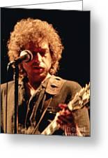Bob Dylan '79 Greeting Card