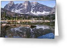 Cirque Of The Towers In Lonesome Lake 4 Greeting Card