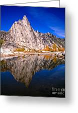 Prusik Peak On Gnome Tarn Greeting Card