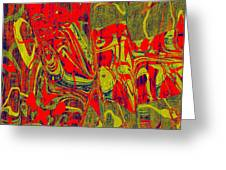 0477 Abstract Thought Greeting Card