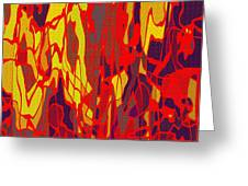 0656 Abstract Thought Greeting Card