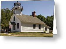 1870 Mission Point Lighthouse Greeting Card