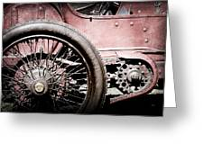 1913 Isotta Fraschini Tipo Im Wheel Greeting Card