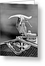 1930 Hispano-suiza H6c Kellner Transformable Hood Ornament Greeting Card