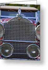 1930 Packard Model 734 Speedster Runabout Greeting Card