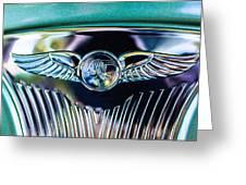 1933 Pontiac Emblem Greeting Card