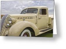 1936 Hudson Terraplane Truck Greeting Card