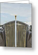 1937 47 Rolls Royce Greeting Card