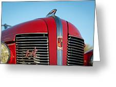 1937 Buick Boattail Roadster Grille Emblems Greeting Card